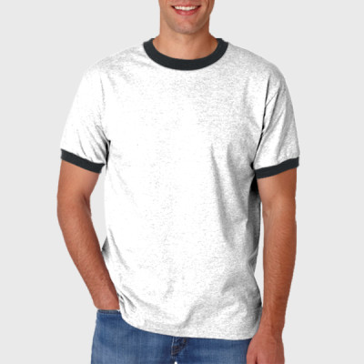 Adult Ringer Cotton Tee